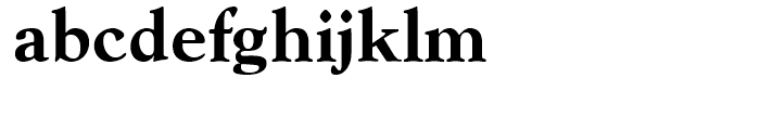 Goudy Extra Bold Font LOWERCASE