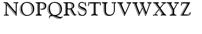 Goudy Handtooled Regular Font UPPERCASE