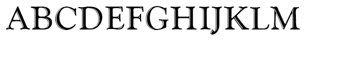 Goudy Handtooled Small Caps Standard d Font UPPERCASE