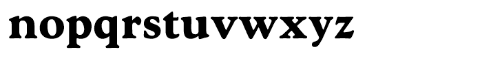 Goudy Hellenic Extra Bold Font LOWERCASE