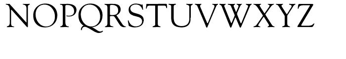 Goudy Hellenic Regular Font UPPERCASE