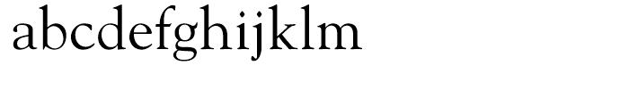 Goudy Hellenic Regular Font LOWERCASE