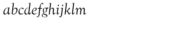 Goudy Old Style Regular Italic Font LOWERCASE