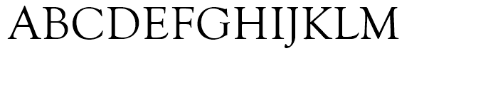 Goudy Old Style Regular Font UPPERCASE
