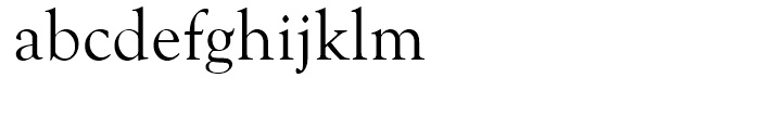 Goudy Old Style Regular Font LOWERCASE