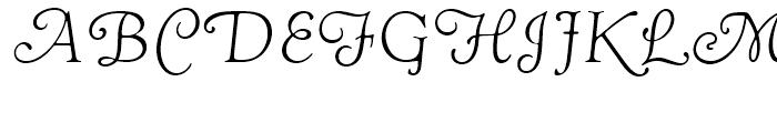 Goudy Swash Light Italic Font UPPERCASE