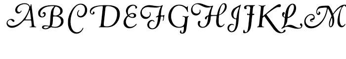 Goudy Swash Regular Italic Font UPPERCASE
