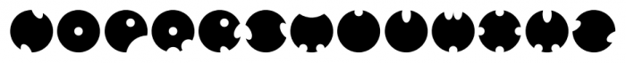 GOLFABET Regular Font LOWERCASE