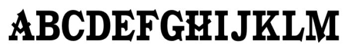Gold Fever  Black Condensed Font UPPERCASE