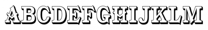 Gold Fever  Open Condensed Font UPPERCASE