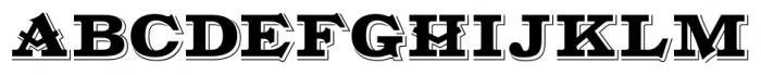 Gold Fever Regular Font UPPERCASE