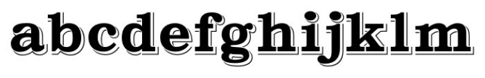 Gold Fever Regular Font LOWERCASE