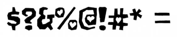 Gomoku Regular Font OTHER CHARS