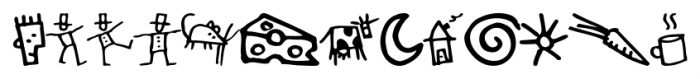 GoodDog Bones Font LOWERCASE