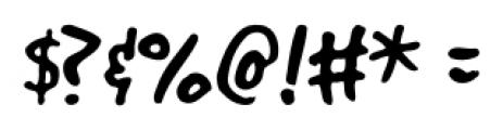 GoodDog Regular Font OTHER CHARS