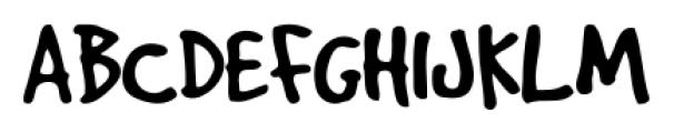 GoodDog Regular Font UPPERCASE