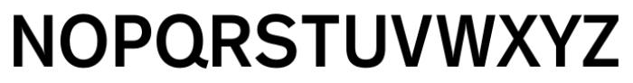 Gothic 725 Bold Font UPPERCASE