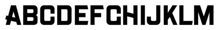 Gothic Unique Bold Font UPPERCASE