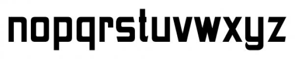 Gothic Unique Bold Font LOWERCASE