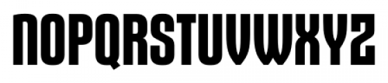 Gothiks Bold Font UPPERCASE