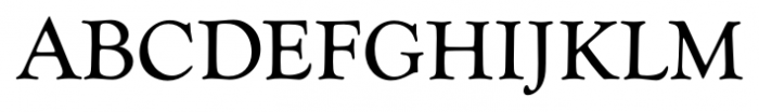 Goudy Catalogue FS Regular Font UPPERCASE