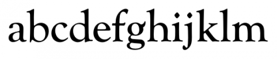 Goudy Catalogue FS Regular Font LOWERCASE