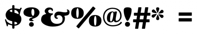 Goudy Stout CT Regular Font OTHER CHARS