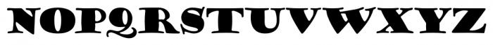 Goudy Stout CT Regular Font LOWERCASE