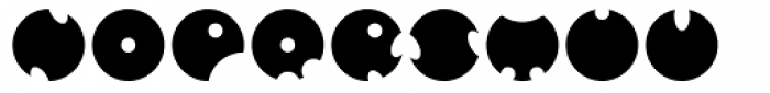 GOLFABET Font LOWERCASE