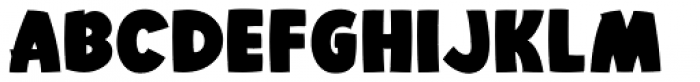 Go To Town Solid JNL Font LOWERCASE