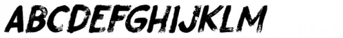 Gobsmacked Italic Font UPPERCASE