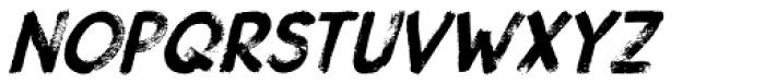 Gobsmacked Italic Font LOWERCASE