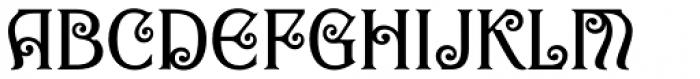 Goddess Swash Font UPPERCASE