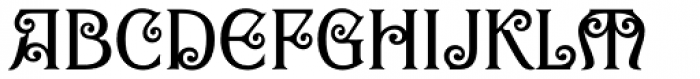 Goddess Swash Font LOWERCASE