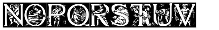 Godfrey Sykes Initials Font LOWERCASE