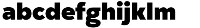 Gogh Black Font LOWERCASE