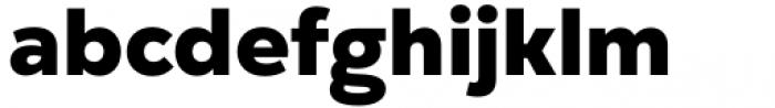 Gogh Heavy Font LOWERCASE