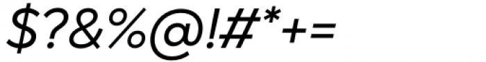Gogh Regular Italic Font OTHER CHARS
