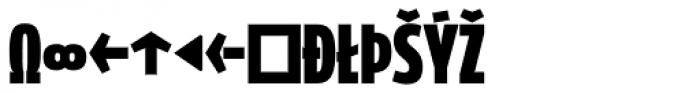 Golary Red Exbo Expert Font UPPERCASE