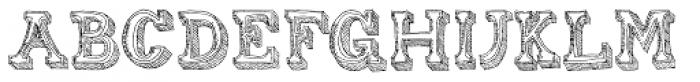 Gold Diggin Font UPPERCASE