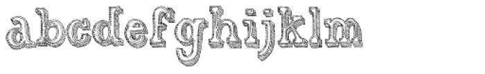 Gold Diggin Font LOWERCASE