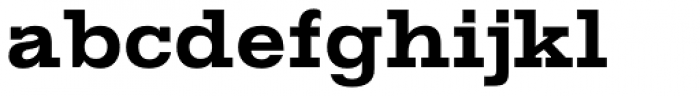 Gold ExtraBold Font LOWERCASE