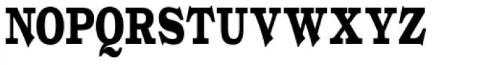 Gold Fever Black Cond Font UPPERCASE