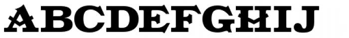 Gold Fever Black Font UPPERCASE