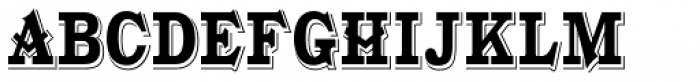Gold Fever Condensed Font UPPERCASE