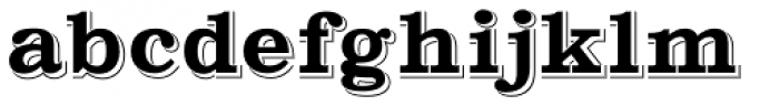 Gold Fever Font LOWERCASE