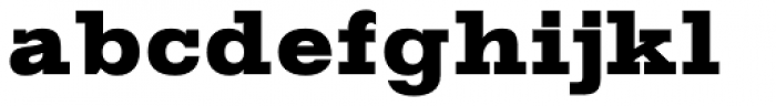 Gold Heavy Font LOWERCASE
