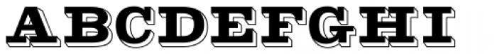 Gold Rush Font UPPERCASE
