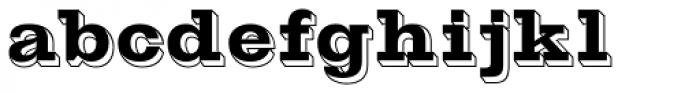 Gold Rush Font LOWERCASE