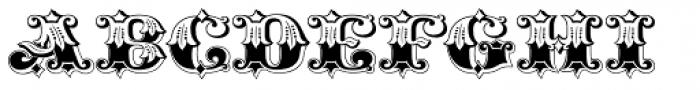 Gold Standard Font UPPERCASE